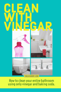 How to Clean Your Entire Bathroom With Vinegar