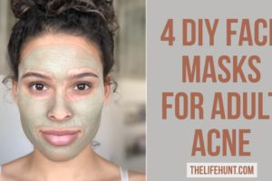 4 DIY Face Masks for Adult Acne