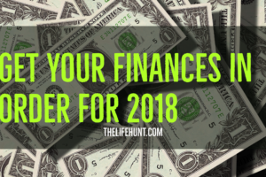 Get Your Finances in Order – Money Resolutions