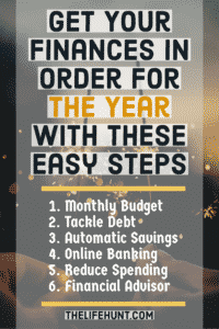 Get your finances in order for the year - money resolutions
