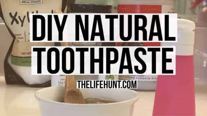 DIY Natural Toothpaste | Save Money and Live Healthy