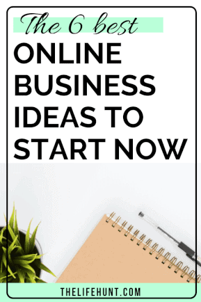 The 6 best online business ideas to start now | thelifehunt.com