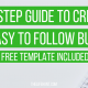 A 7 Step Guide to Create an Easy to Follow Budget + Free Template