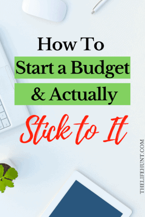 How to Create a Budget Your Actually Stick To