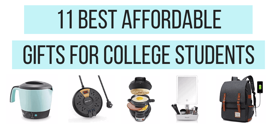 11 Best Affordable and Practical Gifts for College Students