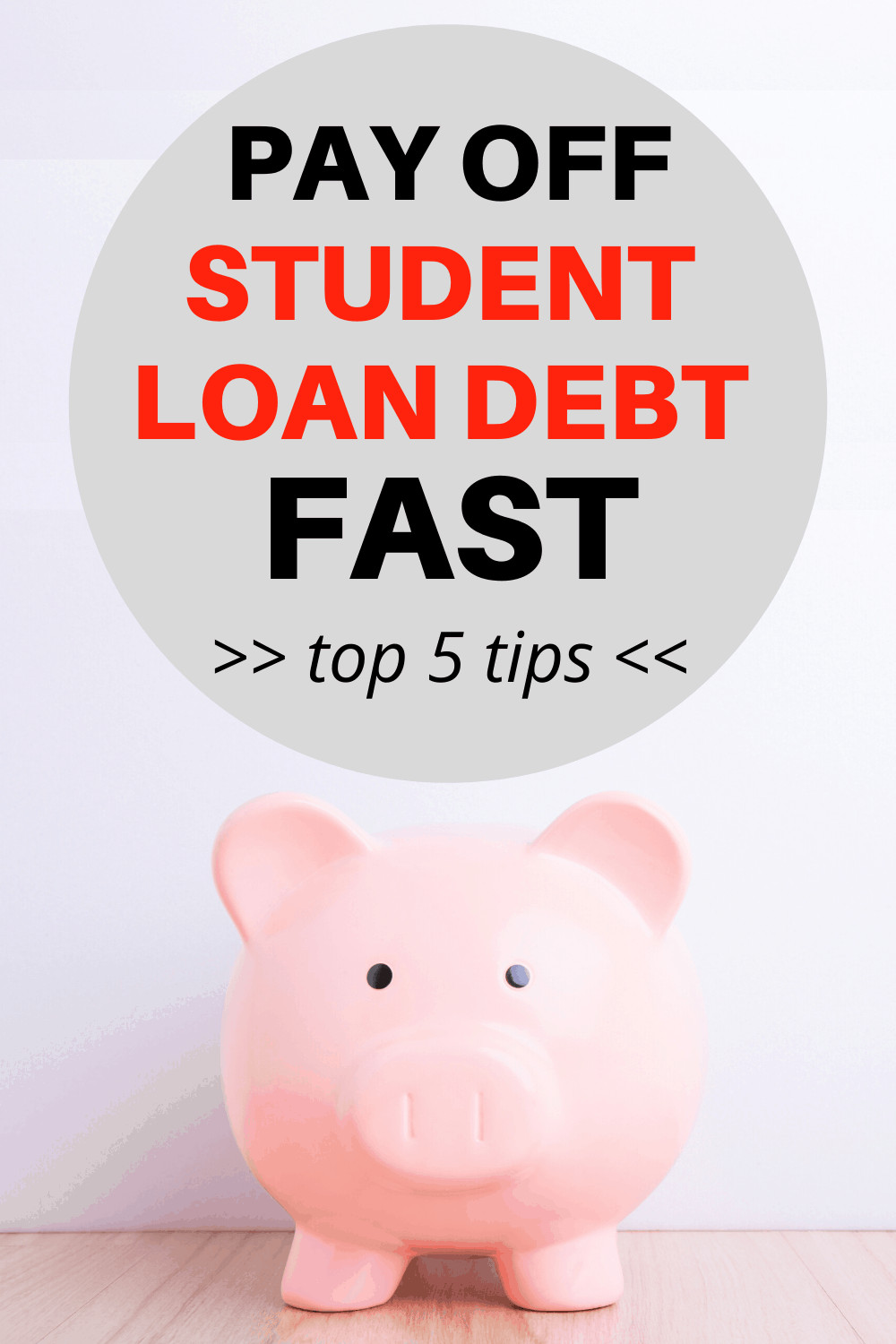 5 Smart Tips on How to Pay Off Student Loan Debt Fast