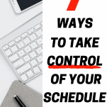 take control of your schedule with keyboard