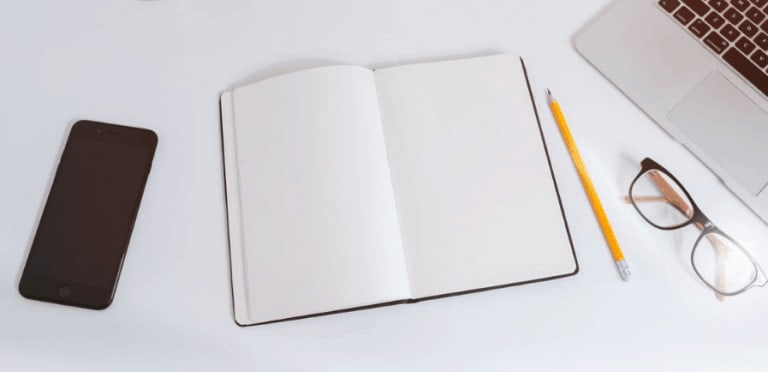 take control of your schedule blank notebook