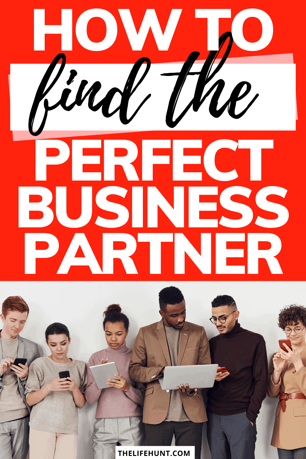 Perfect Business Partner With Young Adults