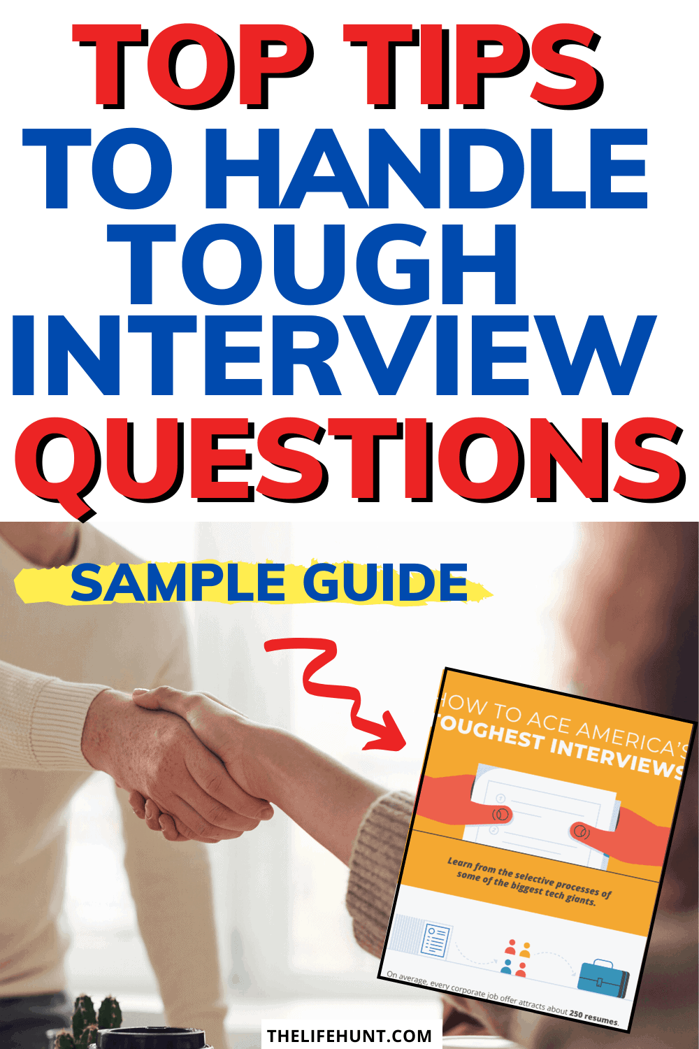 tough interview questions sample guide