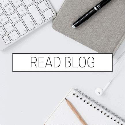 Read blog with keyboard and paper